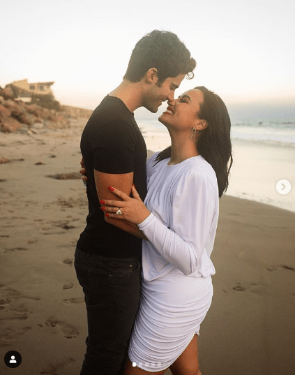 Demi Lovato is ENGAGED: Songstress announces she is set to marry Max Ehrich after five months as a couple 3