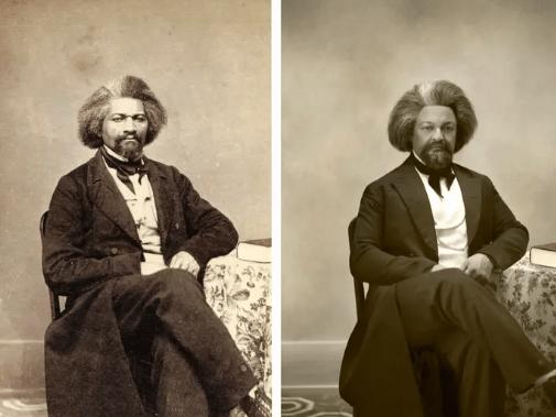 Fotograful Drew Gardner găsește descendenții unor figuri istorice celebre pentru a crea imagini incredibile alăturate 8