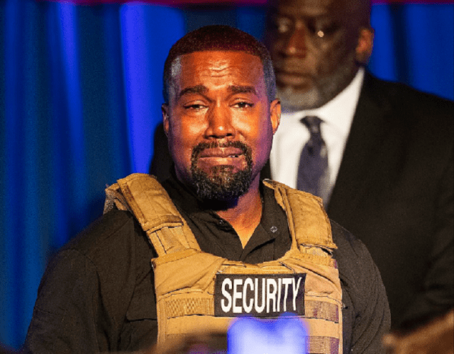 Kanye West claims wife Kim was flying out 'with a doctor to lock me up' after his public abortion revelation 5