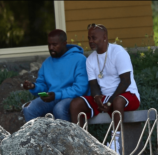 Kanye West loads up on children's clothes from Walmart and visits the bank with friend Damon Dash who denies the rapper is 'crazy' 8
