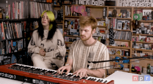 Billie Eilish and Finneas perform 'My Future' in 'Tiny Desk Concert'