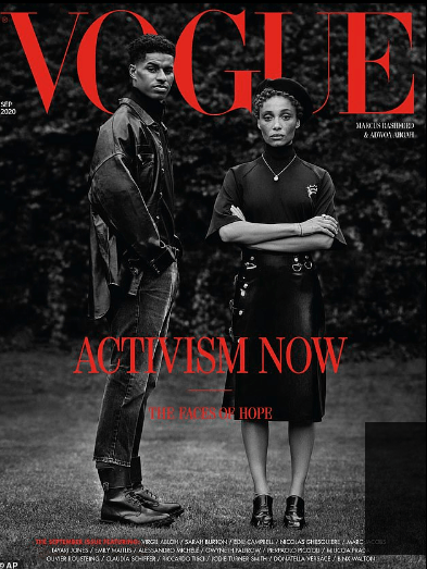 Imarn Ayton, 29, activist feted by Vogue, at the heart of a paramilitary style black power protest group 4