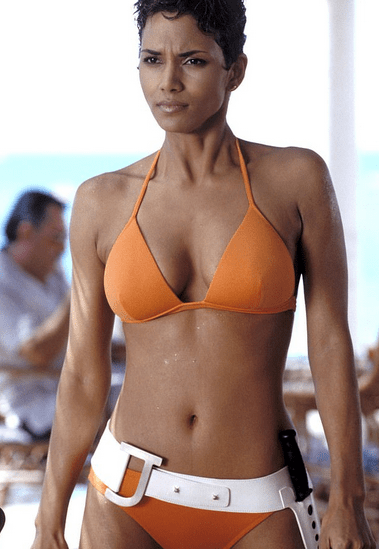Halle Berry, 54, looked incredible in a racy two-piece on the beach during her birthday getaway 3