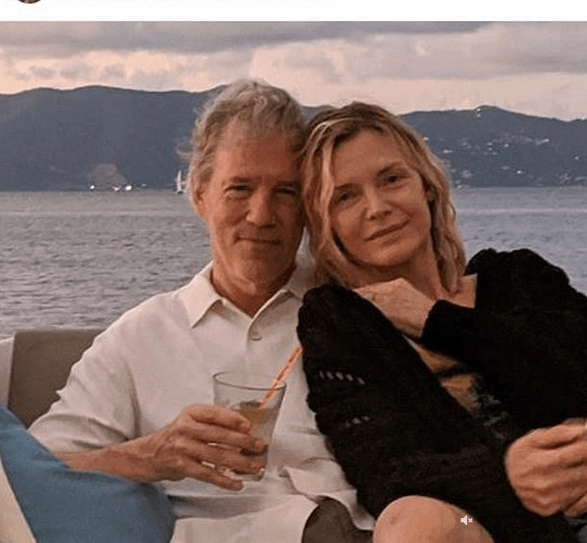 Michelle Pfeiffer, 62, selfie as she soaks up the sun at LA home 6
