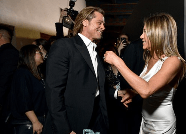 Brad Pitt and Jennifer Aniston set to REUNITE onscreen for the first time since 2001 as he joins all-star live table read of Fast Times At Ridgemont High 4
