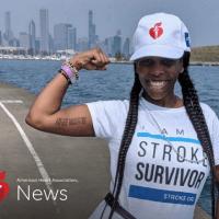 Angela Crenshaw:Un accident vascular cerebral la 37 de ani înseamnă să reînveți totul
