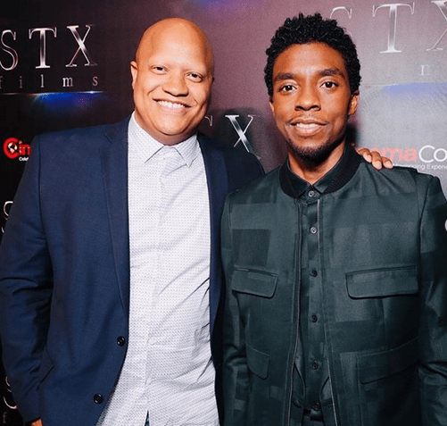 Chadwick Boseman teared up discussing meaning of 'Black Panther' to boys with cancer 6