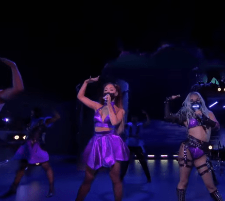 "Lady Gaga and Ariana Grande Slay the 2020 VMAs with Socially-Distant ""Rain On Me"" Performance (Video) 4"