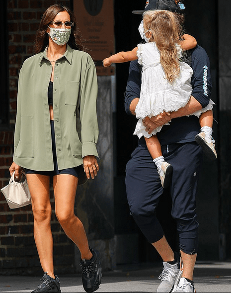 Bradley Cooper and ex Irina Shayk enjoy a family day with daughter Lea 4