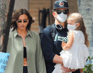 Bradley Cooper and ex Irina Shayk enjoy a family day with daughter Lea