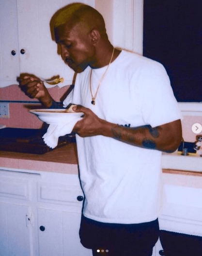 Kanye West, 43, posts video of himself peeing on one of his Grammys 6