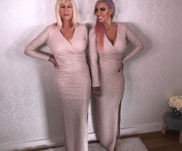 Devastated Jodie Marsh, 41, reveals her mum Kristina has died after battling 'aggressive growing cancer' 3
