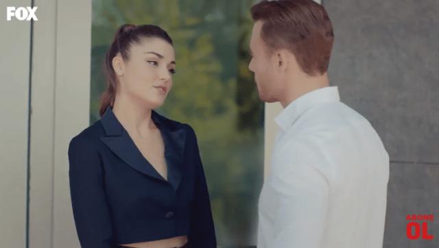 Episodul 10 din Sen Çal Kapımı (Bate la ușa mea) cu Hande Erçel și Kerem Bürsin. Secvențe Video 9