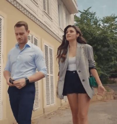 Episodul 11 din Sen Çal Kapımı (Bate la ușa mea) cu Hande Erçel și Kerem Bürsin. Secvențe Video 13