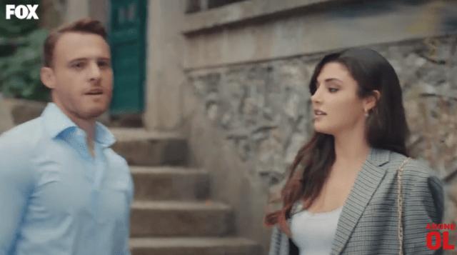 Episodul 11 din Sen Çal Kapımı (Bate la ușa mea) cu Hande Erçel și Kerem Bürsin. Secvențe Video 10