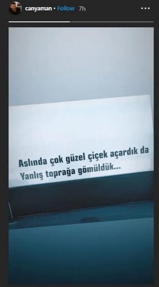 """Can Yaman după anunțul suspendării serialului Bay Yanlıș (Mr. Wrong):""""Suntem obișnuiți să înflorim frumos, dar am fost îngropați într-un pământ nepotrivit"""". 4"""