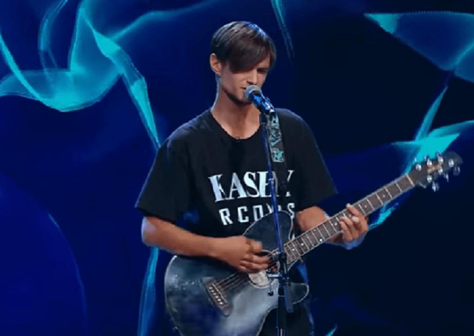 Kashy (Ștefan Gabriel Luca) la X Factor 2020 cu piesa Child In Time