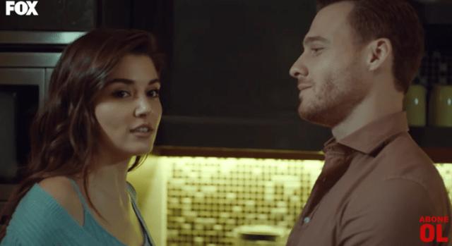 Episodul 12 Sen Çal Kapımı (Bate la ușa mea) cu Hande Erçel Și Kerem Bürsin.Secvențe Video 23