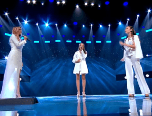 "Trio Eva, din Chișinău, un moment de excepție la X Factor:""Chandelier"""