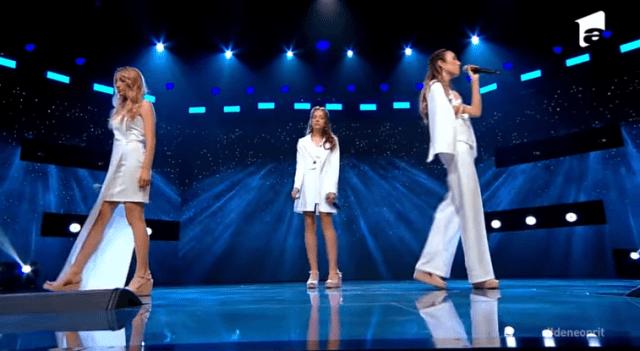 "Trio Eva, din Chișinău, un moment de excepție la X Factor:""Chandelier"" 4"