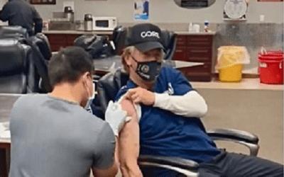 Sean Penn vaccine
