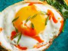toast de cartof dulce cu ou și spanac