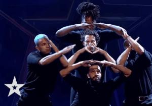 Românii au talent 2021: Géométrie Variable, un dans aproape perfect