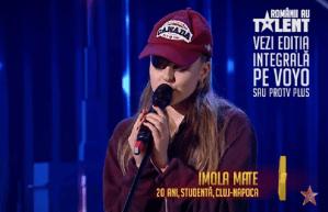 Românii au talent 2021:Imola Mate, 20 de ani, studentă