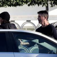 Simon Cowell, discuție aprinsă cu Lauren Silverman pe stradă