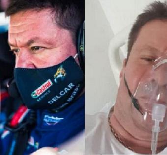 pilotul dan gîrtofan, internat cu covid după vaccin