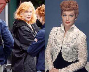 Nicole Kidman seen for first time as legendary Lucille Ball