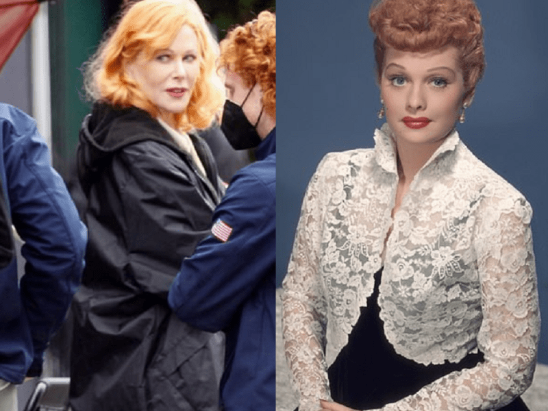 Nicole Kidman as Lucille Ball