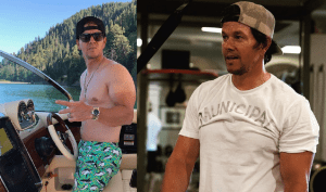 Mark Wahlberg shows off drastic weight gain for film role