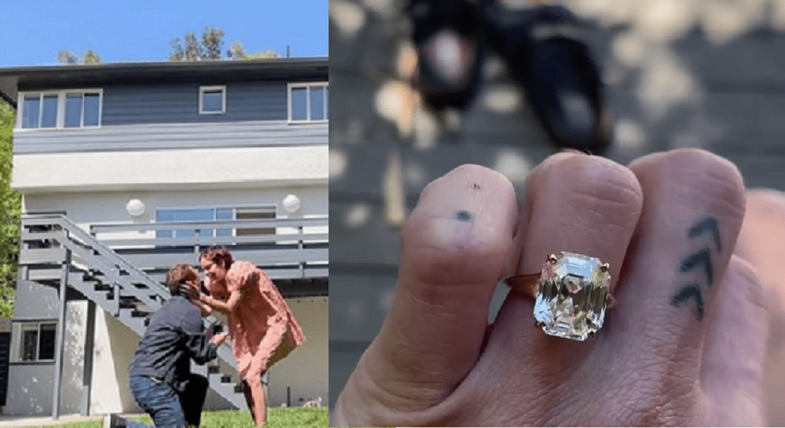 Beautiful actress Tallulah Willis  engaged to Dillon Buss
