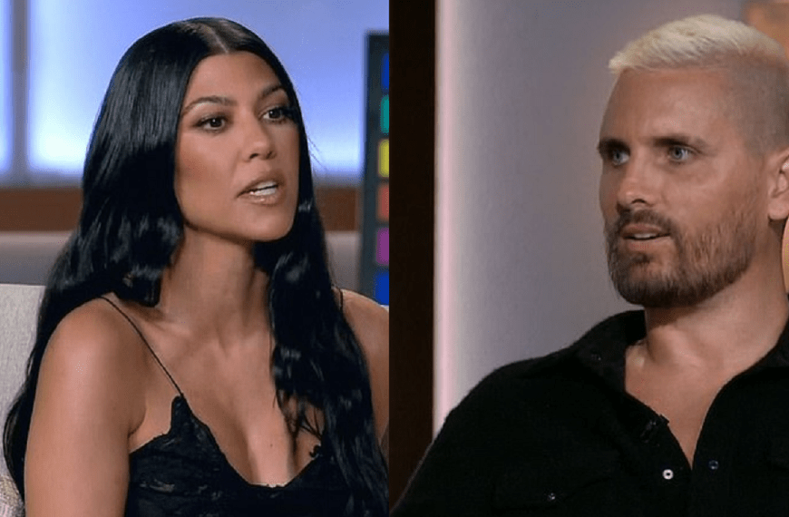 Kourtney Kardashian and Scott Disick address their new relationships for the first and both give their blessings to one another to be happy