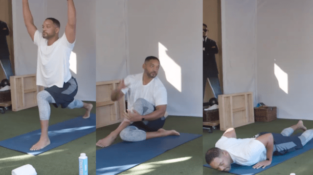 Will Smith, exerciții de fitness