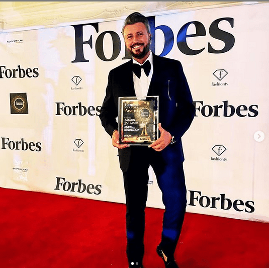 Cătălin Botezatu, Premiul ,,The Most Inspirational Personality in Fashion Industry