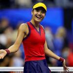 Emma Răducanu la US Open