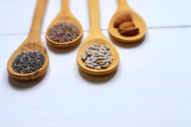 semințele conțin acid fitic