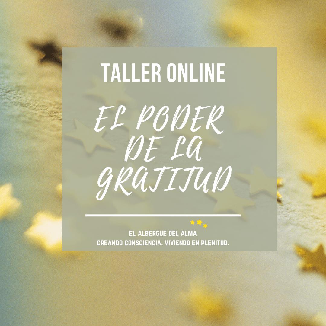 El poder de la gratitud - taller online