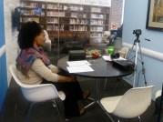 Recording session with Marlene Little, speaker of Nakanamanga (Nguna) and Erakor (South Efate). January 24, 2013.