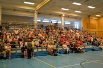 Tarinaniskentäkilpailun yleisöä, kuva Eero Mattila