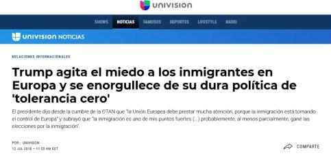 Kamala Harris, Donald Trump, políticas migratorias