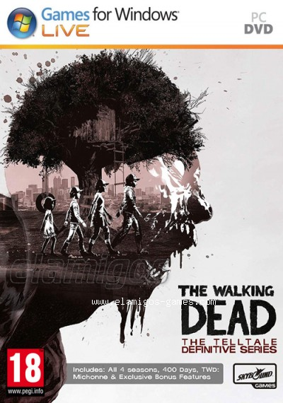 The Walking Dead Torrent : walking, torrent, Download, Walking, Telltale, Definitive, Series, [MULTi9-ElAmigos], [Torrent], ElAmigos-Games
