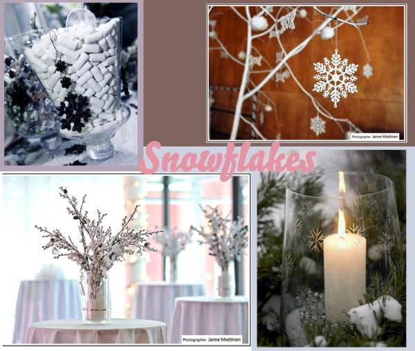 Snowflake Theme Wedding Destination Colombia