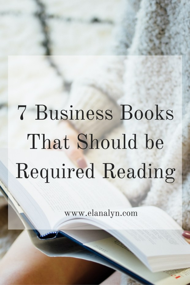 7 Business Books That Should Be Required Reading