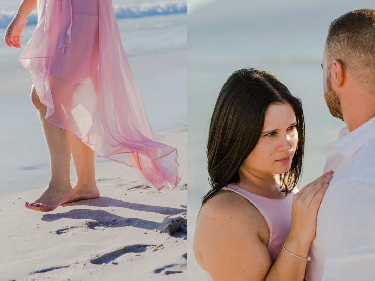 Dolphin Beach Engagement - (10)