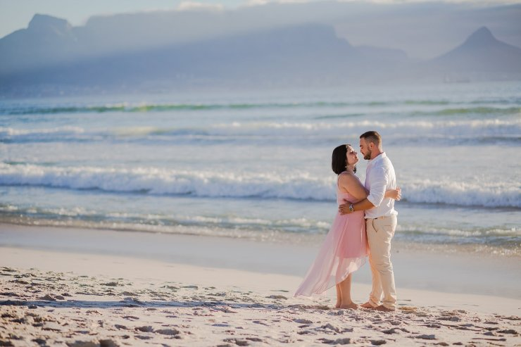 Dolphin Beach Engagement - (12)