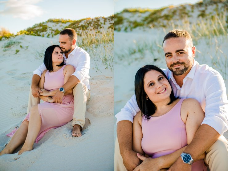 Dolphin Beach Engagement - (2)