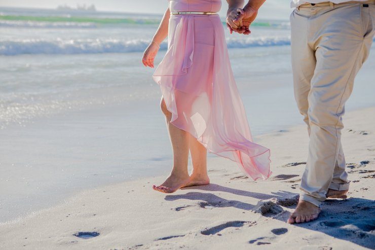 Dolphin Beach Engagement - (6)
